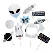 Fotoprops Space Party - 10-pack