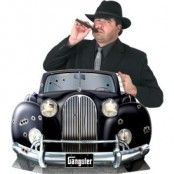 Gangsterbil fotoförgrund - 64cm