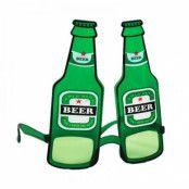 Glasögon Ölflaskor