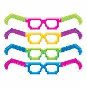 Glasögon 8-bitar