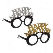 Glasögon Happy New Year Glitter - 1-pack