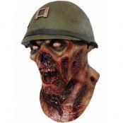 Död Snö Inspirerad Soldat Zombie - Heltäckande Lyx Latex Mask