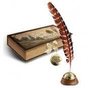 Harry Potter Hogwarts Fjäderpenna Med Bläck