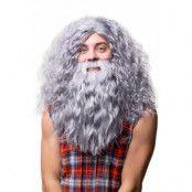 Peruk  Hagrid med skägg