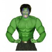 Hulken - Grön Muskeldräkt