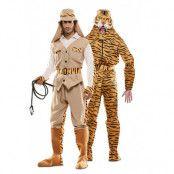 Dräkt dubbel, jägare& tiger -XL