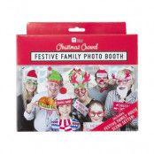 Fotoprops Jul Familjefoto - 20-pack