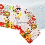 Jul med Musse Pigg bordsduk i plast