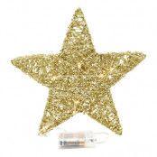 Juldekoration Stjärna Metall Guld