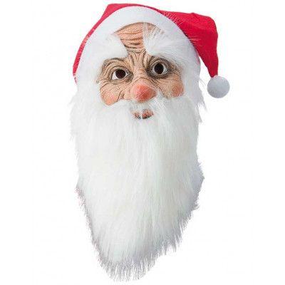 Jultomtemask med Luva och Skägg