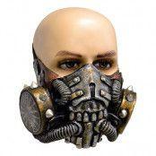 Gasmask med Nitar Latexmask - One size