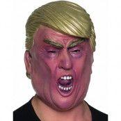 Heltäckande Donald Trump-inspirerad Latexmask