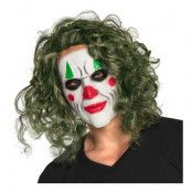 Latexmask The Villain med Hår - One size