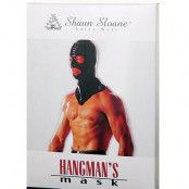 Shaun Sloane - Latex Hangman's Mask Black
