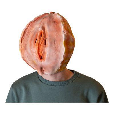 Vagina Snäckskal Latexmask - One size