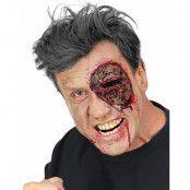 Zombie Eye - Latex Protes med Fästmedel