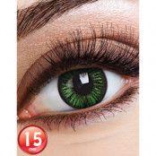 Big Eyes Lustrous Green Linser med Styrka