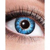 Blå Big Eyes Linser
