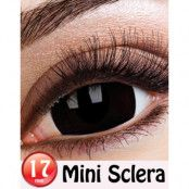 Black Mini Sclera 17 mm Crazylinser