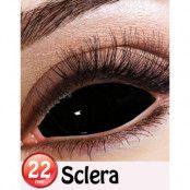 Black Sclera 22 mm Heltäckande Linser