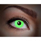 Färgade linser UV Flash Green