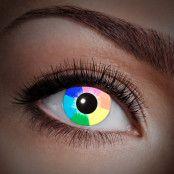 Färglinser Regnbåge UV 1 år