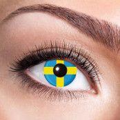 Färglinser  Svenska flaggan