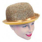 Bowler Hatt Guld - One size