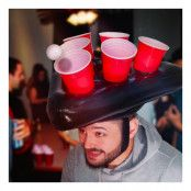 Uppblåsbar Ölpingis Hatt - One size