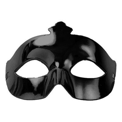 Ögonmask Metallic Svart - One size