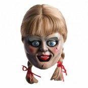 Annabelle Mask med Peruk - One size
