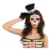 Day of the Dead Dam Halvmask - One size