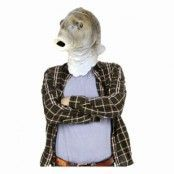 Den Sjungande Fisken Mask - One size