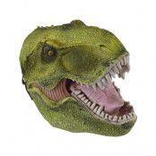 Dinosaurie Mask - Brun/Röd