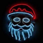El Wire Santa LED Mask