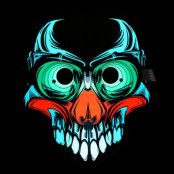 LED Mask Terror