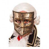 Mask Maskeradbal Guld - One size