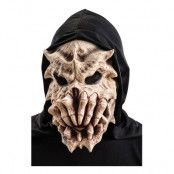 Monsterskelett Mask med Huva - One size