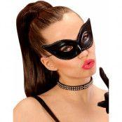 Shiny Cat Eye - Svart Ögonmask