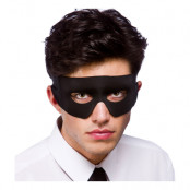 Skurk/Superhjälte Svart Ögonmask - Svart