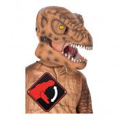 T-Rex Mask för Barn - One Size