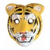 Tiger - Mask av Formad Plast till Barn