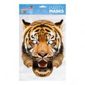 Tiger Pappmask