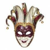 Venetiansk Jokerherre Mask