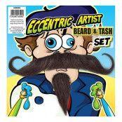 Konstnär Skägg och Mustasch