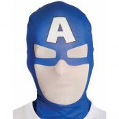 Licensierad Captain America Morphsuit Mask