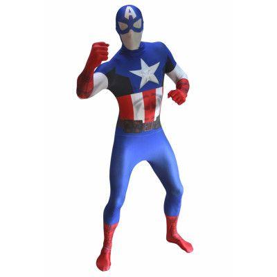 Morphsuit  Captain America zappar  M