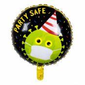 Folieballong, party safe 45 cm