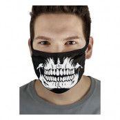 Skull Teeth Munskydd - One size