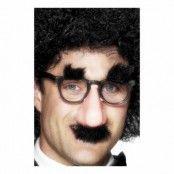 Glasögon med Lösnäsa och Mustasch